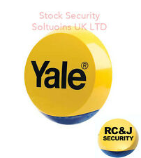 YALE EASY FIT ROUND NEW DUMMY ALARM SIREN BOX PROTECT YOUR PROPERTY !!