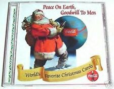 """COCA COLA CHRISTMAS CD """"peace on earth goodwill to men"""" COLLECTOR EDITION VOL 13"""