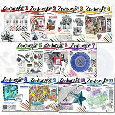 Zentangle Collection 11 Books Set Pack By Suzanne McNeill Brand NEW PB