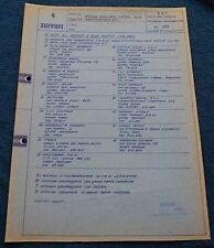Ferrari Circolare Tecnica ZF Service #183 Blueprint 1971 no brochure book buch