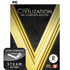 CIVILIZATION V 5 THE COMPLETE EDITION PC AND MAC STEAM KEY