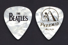 Cheap Trick Tom Petersson Beatles White Pearl Guitar Pick - 2009 Tour