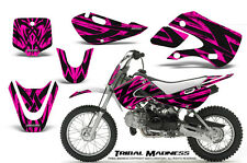 KAWASAKI KLX110 02-09 KX65 00-12 GRAPHICS KIT CREATORX DECALS TMP