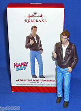 Hallmark Ornament Happy Days Arthur The Fonz Fonzarelli 2014 Fonzie Aaaayyyy NIB