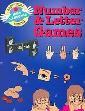 Number and Letter Games by S. H. Collins and S. Harold Collins (1995, Paperback)