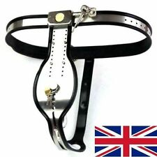 Full Male Chastity Belt / Device Stainless Steel with drainage pipe 65-110cms
