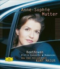 Beethoven: Violin Concerto; Romances BLU RAY PURE AUDIO DTS & STEREO ANNE MUTTER