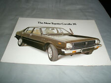 Toyota Corolla 30 brochure Jan 1975