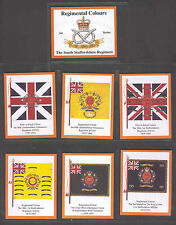 South Staffordshire Regiment 1st Series of Trade Cards Sent Post Free