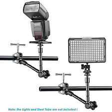 "Neewer 11"" Magic Arm and Crab Clip for DSLR Camera,LCD Monitor and LED Light"