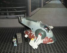 STAR WARS ACTION FLEET I BOBA FETT'S SLAVE 1 COMPLETE