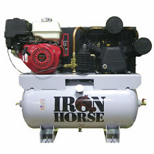 Iron Horse 11-HP 30-Gallon Two-Stage Truck Mount Air Compressor w/ Honda Engine