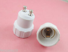 GU10 to E14 Socket Base LED Halogen CFL Light Bulb Lamp Adapter Converter Holder