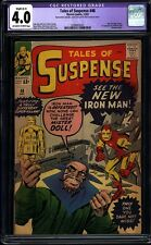 Tales of Suspense 48 CGC 4.0 R Silver Age Key Marvel Comic New Armor IGKC L@@K