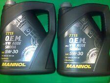 Mannol 5W30 C3 GM dexos2 VW 504/507 BMW Vollsyntetisches Motoröl 10 Liter 5W-30