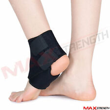 1 x Ankle Support Protection Sport Running Injury Sprain Brace Foot BLK