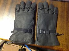American Army Leather Gloves , size Medium