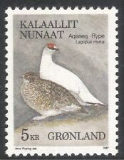 Greenland 1987 Rock Ptarmigan/Birds/Nature/Wildlife/Conservation 1v (n43653)