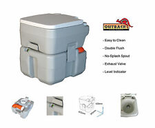 20L PORTABLE Chemical Toilet NEW EASY EMPTY STYLE Caravan Camping RV Motorhome