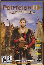 PATRICIAN III 3 Medieval Strategy Kindom Sim PC GameNEW