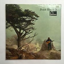 JOAN BAEZ - 5 * VINYL LP * FREE P&P UK * FONTANA - TFL.6043 * MONO *