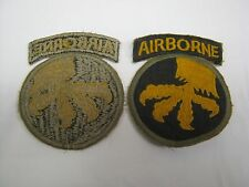 WW2 United States 17th Airborne Paratrooper Badge Patch repro