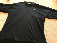 WALT DISNEY WORLD Men Golf Polo Shirt Blue Short Sleeve MICKEY MOUSE 2XL