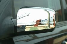 Per KIA SORENTO 2003 - 2009 CHROME WING DOOR MIRROR coperchio TRIM SET