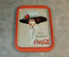 Vintage Coca-Cola Server Tray, & Coca-Cola 6 1/2 Fl. Oz Bottle