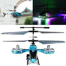 AVATAR M-302 IR 2.4G 4CH RC Remote Control Helicopter LED Light GYRO RTF Blue
