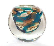Signé mdina mer et sable vase-art verrerie