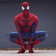 Custom Made Amazing Spider Man Cosplay Zentai Costume Amazing Spiderman Costume