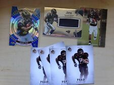 (7) Lot 2012 ISAIAH PEAD RC Rookie SP Authentic Bowman Sterling Topps Finest