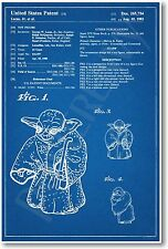 Star Wars Yoda Patent - NEW Invention Patent Movie Art POSTER