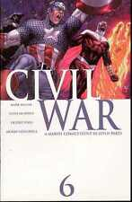 CIVIL WAR VOL.1 #6 OF 7 MARVEL COMICS FIRST PRINT