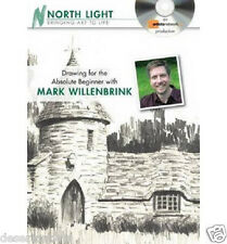 NEW! Drawing for the Absolute Beginner with Mark Willenbrink [DVD]