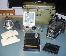 WWII ERA USAAC UNITES STATES AIR CORPS NAMED RICHARD A HOWE GRAFLEX CAMERA