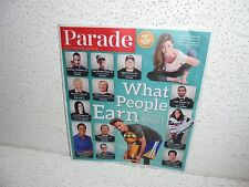 Parade Newspaper Magazine April 10 2016  What People Earn Donald Trump