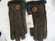 UGG SHEARLING BAILY GLOVE,Small,Chocolate, NWT, MSRP $175