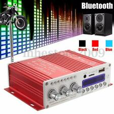 12V Digital Mini Bluetooth HiFi Stereo Amplifier Audio AMP For Car Home MP3