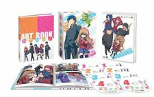 Toradora! Complete Series Premium Edition Ep 1-25 OVA Art Book New Blu-ray/DVD!