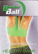 Bender Ball Method For A Strong Healthy Back DVD Home Workout Excercise Video