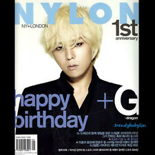 Nylon Korea September 2009 BigBang G-dragon SNSD Girls Generation Jessica Yuri