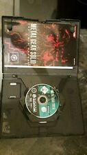 Metal Gear Solid: The Twin Snakes (Nintendo GameCube, 2004, DVD-Box)
