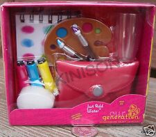 "Our Generation 18"" Doll Just Add Water Artist Painter Palette Water Color Brush"