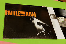 U2 2LP RATTLE AND HUM ORIG ITALY 1988 EX GATEFOLD COVER AND INNER