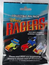 Disney Pin Collectible RACERS CLASSIC  Mystery Pack Randomly SEALED Set of 5