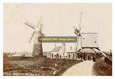 rp8484 - Boston Docksite Windmills , Lincolnshire - photo 6x4
