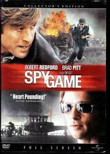 SPY GAME DVD COLLECTOR'S EDITION FULL SCREEN