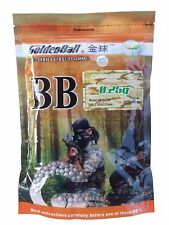 GoldenBall Airsoft BB .25g 3,000 rounds 6mm ProSeries